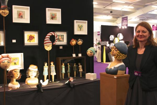 Sandra Grimaud est sculpteur céramiste à Pernay (I et L)