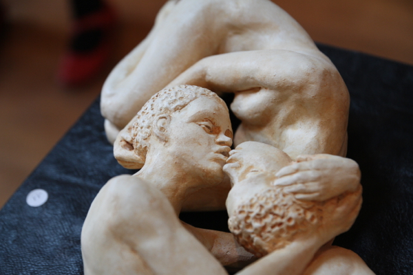 """Détail de """"Les naufragés de l'amour""""..."""