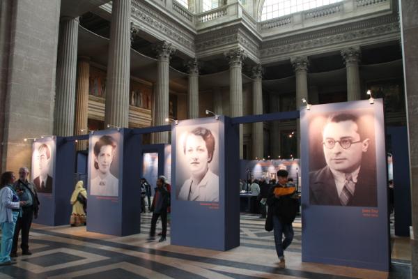 Une exposition retrace la vie des quatre héros de la Résistance