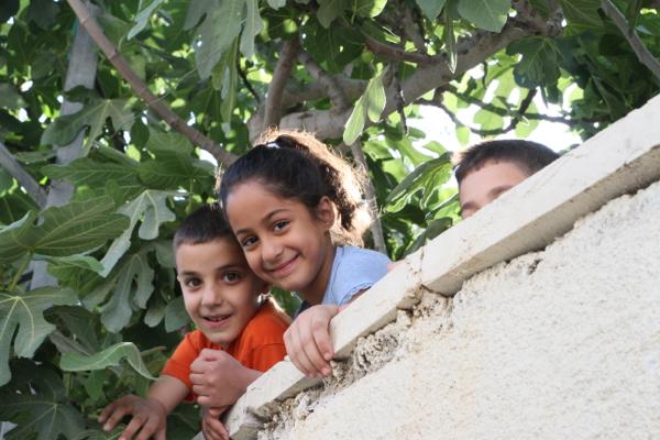 Enfants dans le camps de réfugiés de