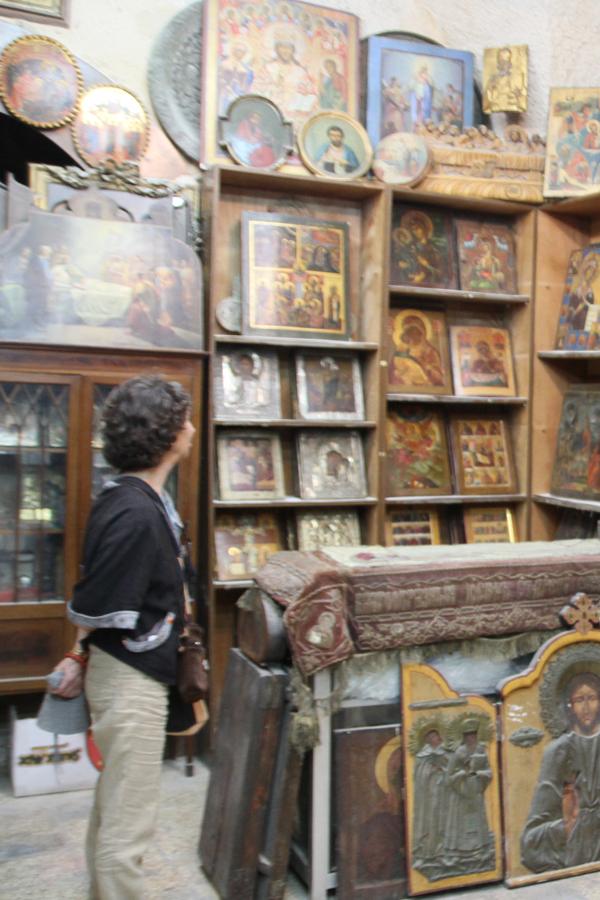 Les icônes, souvenirs de leur pays d'origine, sont recherchées