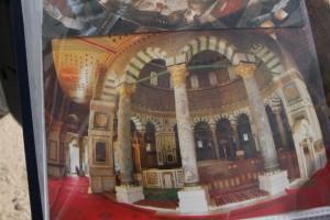 Une carte ancienne du Saint Sépulcre