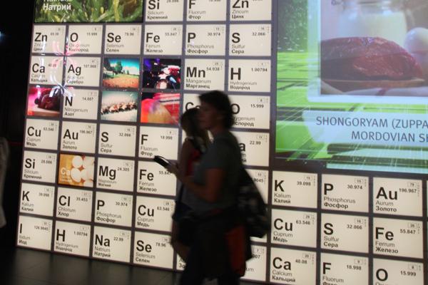 Les abréviations de chimie et de physique ... invention russe ?