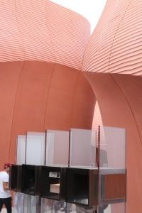 Une partie du pavillon