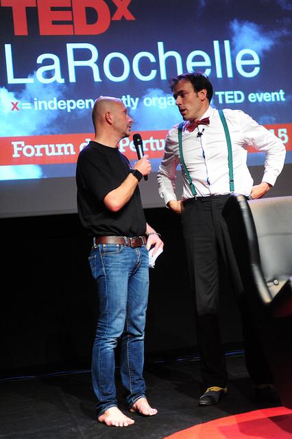 L'animateur avec Matthieu