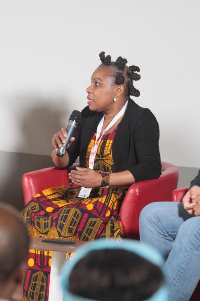 Mary Noêl Niba est cinéaste et une observatrice des évolutions de la société camerounaise
