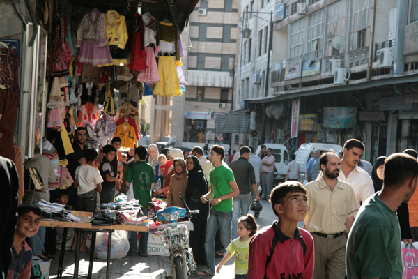 2009, dans les souks de Homs (XIIIe)