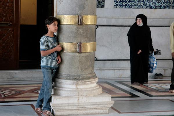 Dans la Mosquée