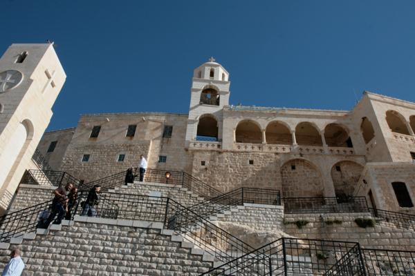 Le monastère de Saidnaya