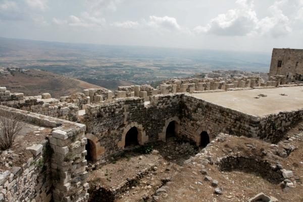 Vue de la trouée de Homs