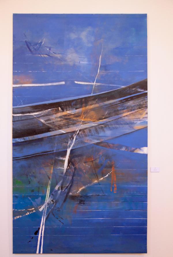 Le souffle 2011 acrylique sur toile