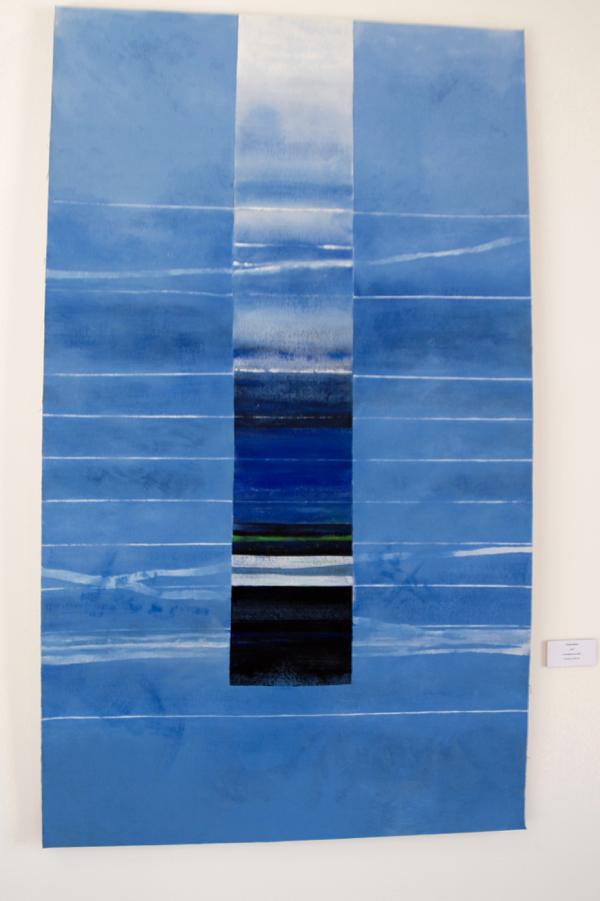 Toile bleue 2007 Acrylique sur toile
