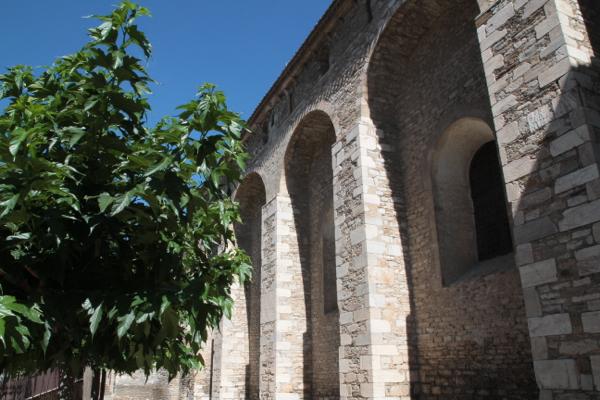 Détail des fortifications de la Cathédrale