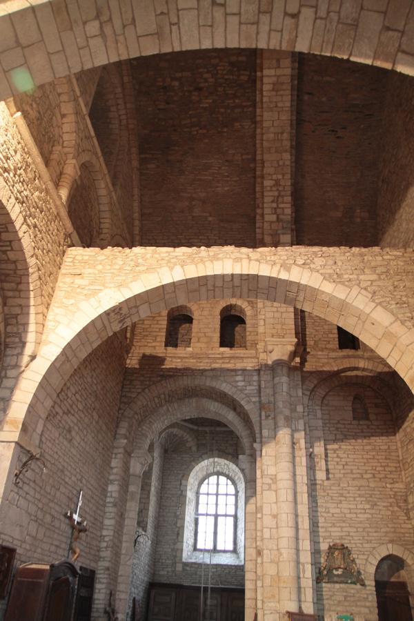 Sacristie monumentale et romane
