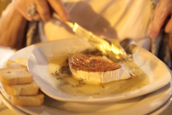 Fromage de chèvre et miel