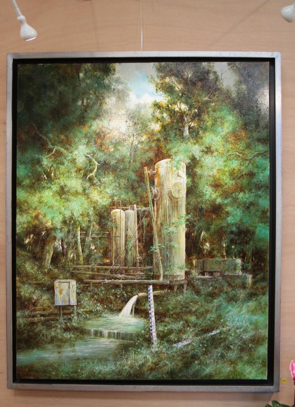 """""""La fontaine"""" HST de Jean Marie La Berthonnière."""