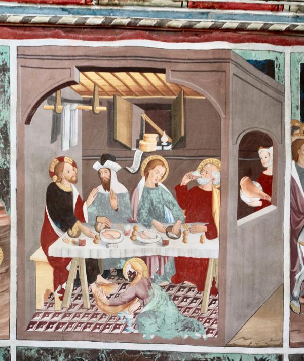 Repas chez un pharisien